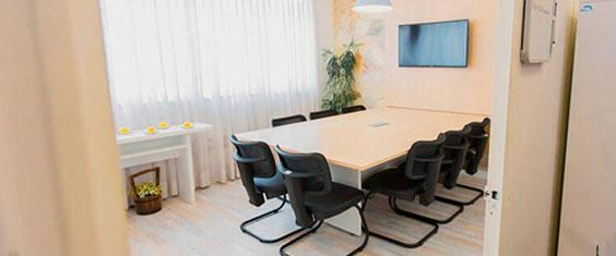 Salas de Reunião Coworking